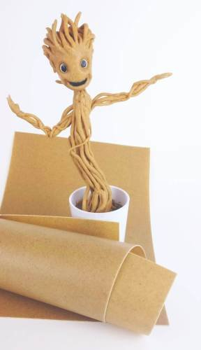 Groot made of Worbla