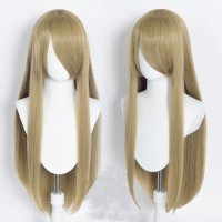 Cosplay wig / blond / straight / with bangs | N31 Dune