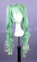 Cosplay Wig Vocaloid - Hatsune Miku Greenmix curly