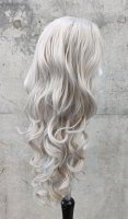 Grey Lace Front wig 60cm curly | V78 Fullmoon