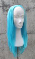 Blue Lace Front wig 60cm straight | V53 Poolparty
