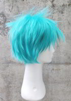 Cosplay wig turquoise | spikey step cut | S55 its so catchy