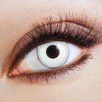 Weiße Kontaktlinsen White Spotlight