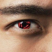 Red contact lenses Kakashis Mangekyou Sharingan