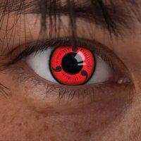Red contact lenses Sharingan Naruto