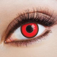 Red contact lenses Red Devil