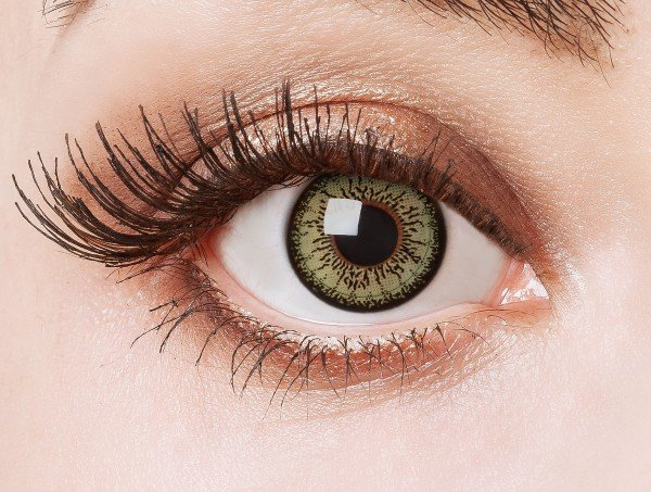 Green contact lenses Green Passion