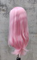 Pink Lace Front wig 60cm straight | Rosé