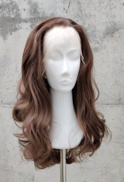 Brown Lace Front wig 60cm curly | N04 Coffee & N05 Chocolate Mix