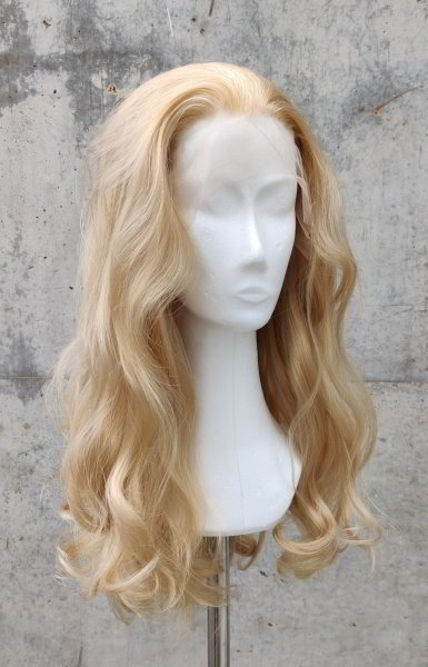 Blond Lace Front wig 60cm curly | Oatblond
