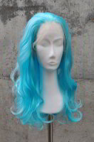 Blue Lace Front wig 60cm curly | V53 Poolparty