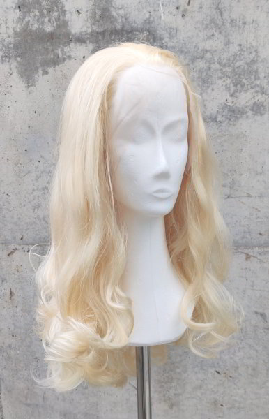 Blond Lace Front wig 60cm curly | N37 Light Blond