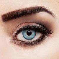 Contact lenses Capri Blue