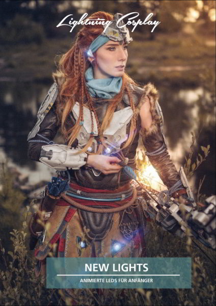 Lightning Cosplay - Book New Lights - animated LEDs for beginners